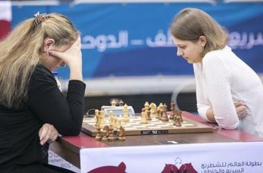 Украинка Анна Музычук уверенно лидирует на чемпионате мира по быстрым шахматам