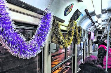 Как будет работать киевский транспорт в новогоднюю ночь