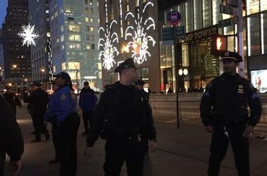 Полиция эвакуировала людей с лобби Trump Tower