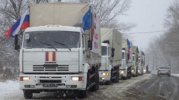 Агентура: «Гумконвой» В.Путина вывез 40 тел военныхРФ