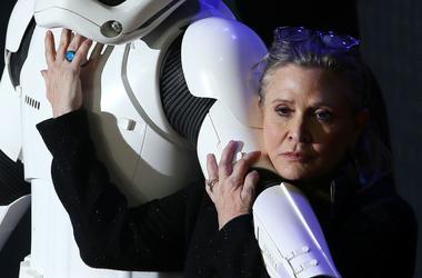 """Кэрри Фишер успела завершить съемки в новом эпизоде """"Звездных войн"""""""