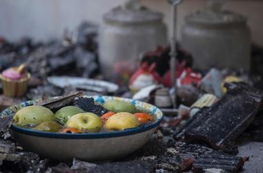 В Харьковской области пожар унес жизни двух человек