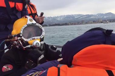 В Черном море приостановили водолазные работы по поиску обломков Ту-154 из-за шторма
