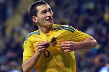 Игроки сборной Украины поздравили болельщиков с наступающим Новым годом