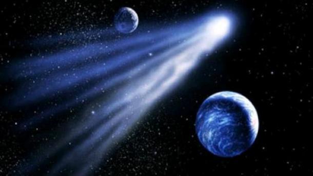 ВНовый год Рядом сЛуной пролетит «праздничная» комета