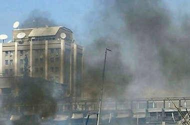 В Дамаске посольство России обстреляли из миномета