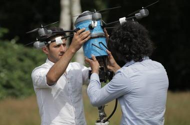 Новый дрон-сапер обезвредит все минные поля в мире за 10 лет