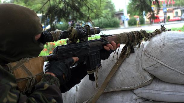 Под Попасной силы АТО отбили нападение боевиков— штаб