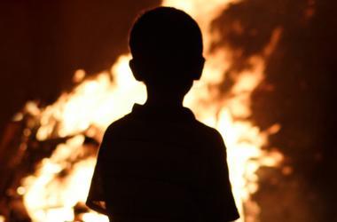 В Ровенской области во время  пожара погибли двое детей