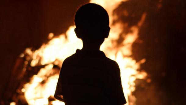 Врезультате сильного возгорания вРовенской области погибло двое детей