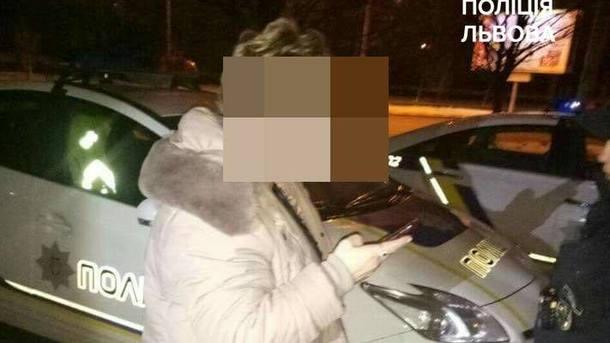 На месте происшествия. Фото: патрульная полиция Львова