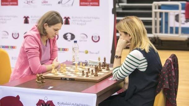 Анна Музычук завоевала вКатаре уже 2-ое «золото»