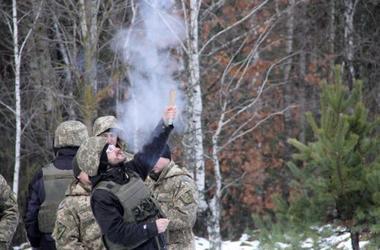 Трогательное поздравление украинских бойцов на Донбассе с праздниками