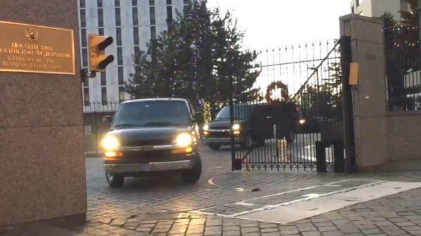 ВВашингтоне приземлился спецборт, адресованный зароссийскими дипломатами