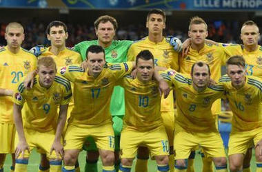 The national team of Ukraine on football - disappointment 2016