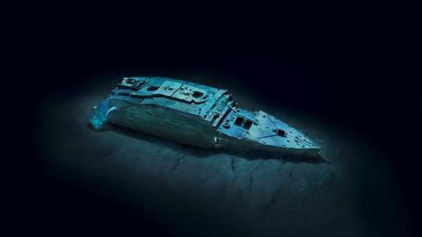 "Остов ""Титаника"" на дне океана. Фото: news.yahoo.com"