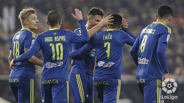 «Сельта» разгромила «Валенсию» в1/8 финала Кубка Испании