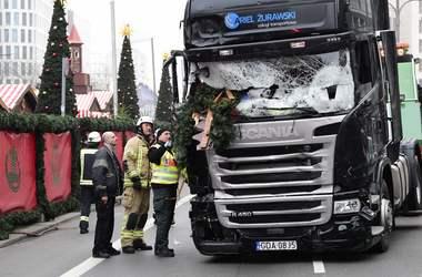 В Берлине задержан подозреваемый в нападении на рождественскую ярмарку