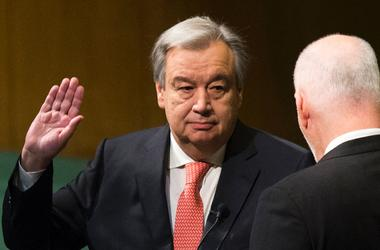 Новый Генсек ООН призвал к реформе Организации