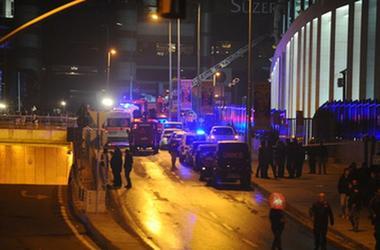 При стрельбе у ресторана в Стамбуле пострадали два человека