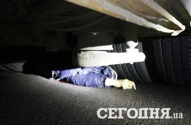 Под Киевом маршрутка насмерть сбила пенсионерку