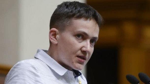 «Военная хитрость»: Савченко поведала, как выиграть войну наДонбассе задва месяца