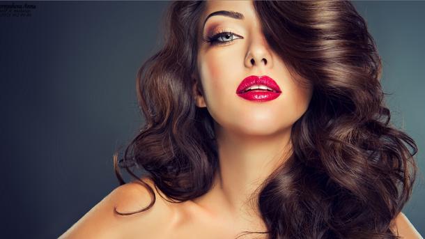 макияж в прямом времени