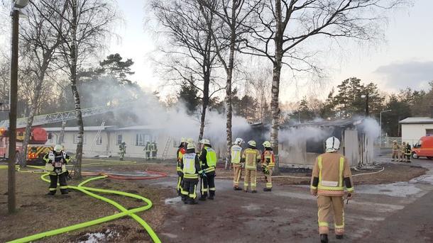 Полсотни человек пострадали впожаре в германском приюте для беженцев