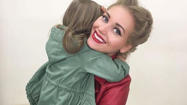 Кристина Асмус впервый раз выложила фото дочери