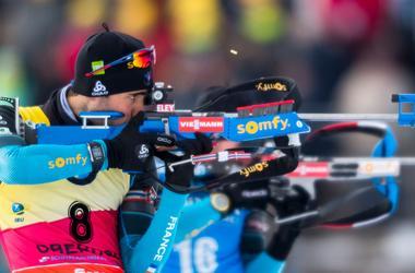 Украинский биатлонист Артем Прима вошел в десятку в гонке преследования