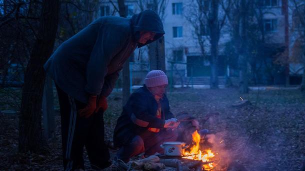 Из-за непогоды неменее 70 населенных пунктов Украинского государства остались без света