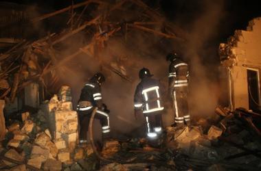 Спасатели показали последствия смертельного взрыва в Одессе
