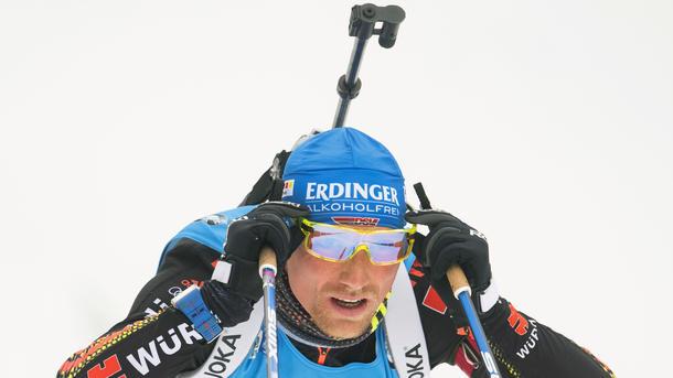 Биатлонист Эберхард стал лучшим вспринте наэтапе Кубка мира