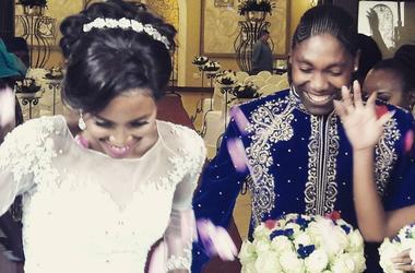 В сети появилось фото и видео со свадьбы скандальной легкоатлетки Кастер Семени