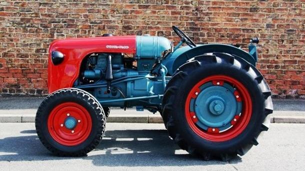 Трактор Lamborghini оценили в32 тысячи долларов
