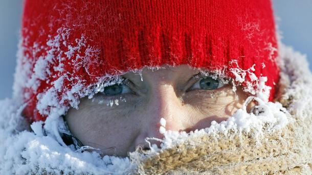 От холода гибнут люди. Фото: ru.delfi.lt