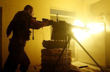 Боевик расстрелял подчиненного из пулемета