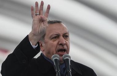 В Анкаре полиция жестко разогнала митинг против расширения полномочий Эрдогана