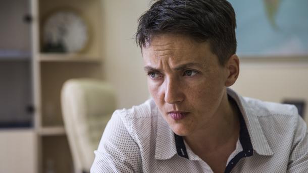 Надежда Савченко обнародовала списки военнопленных— СБУ неуказ