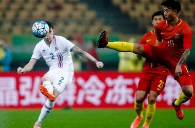 Китай проиграл Исландии и другие матчи сборных во вторник