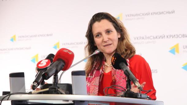 Украинка назначена главой МИД Канады