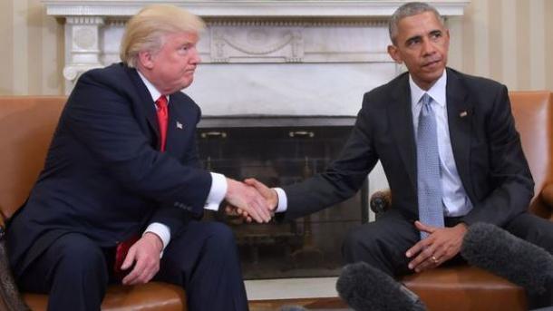 Обама пригласил Трампа выпить чаю