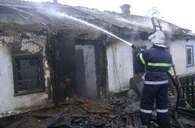 В Херсонской области два человека погибли в огне