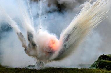 Взрыв прогремел в Херсонской области