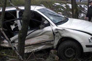 Смертельное ДТП на Волыни:  автомобиль на скорости влетел в дерево