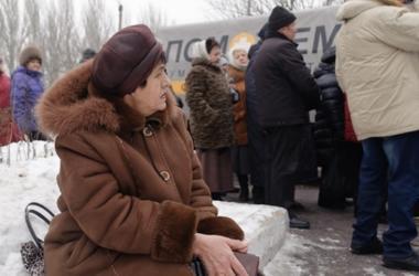 Как на Донбассе помогают выживать пенсионерам