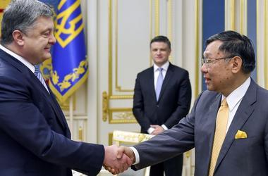 Порошенко запустил Год Японии в Украине