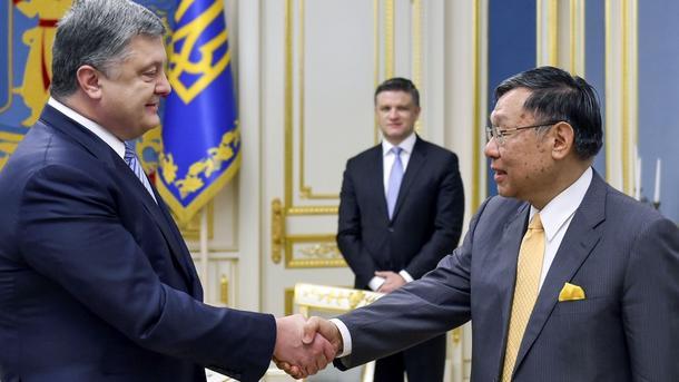 Порошенко объявил 2017г годом Японии вУкраинском государстве
