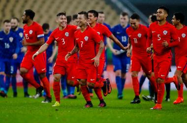 Сборная Чили обыграла Хорватию в серии пенальти