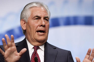 На действия России в Крыму нужно было ответить силой - Тиллерсон